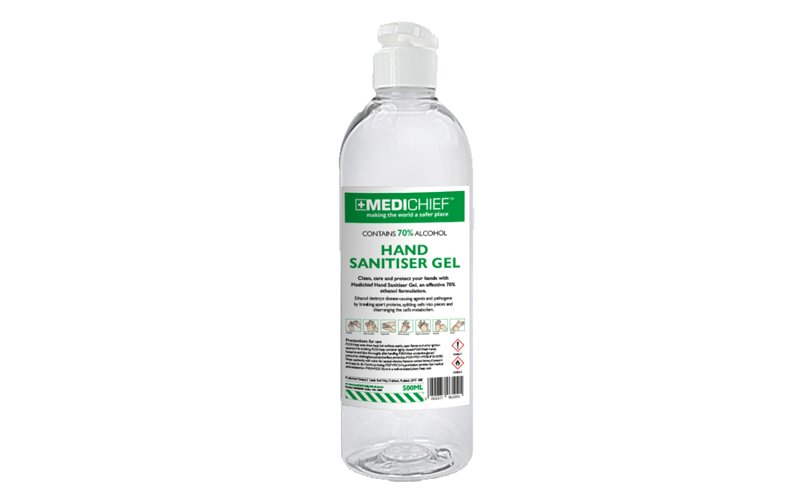 Hand Sanitiser Gel 500 ml