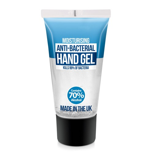Hand Sanitiser Gel 50ml - Pack of 10 (HG50-PK10)